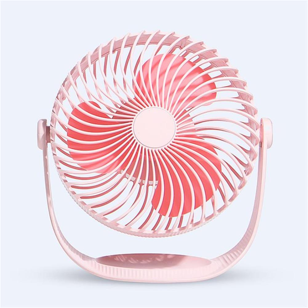 other-learning-office-supplies Well Star WT-F12 Portable Mini USB Fan Air Cooling Fan 360 Rotating Fan Chargable Air Cooler Silent Cooling Fans with USB Cable for Home office Student Dormitory Outdoors HOB1458311 3 1