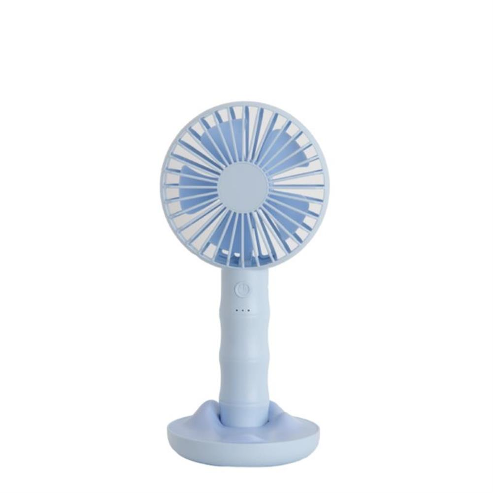 other-learning-office-supplies Well Star WT-F13 Portable Handheld Mini Fan USB Rechargeable Fan with Base Strong Wind Small Fan Mini Desktop Mobile Phone Holder Fans HOB1459108 1 1