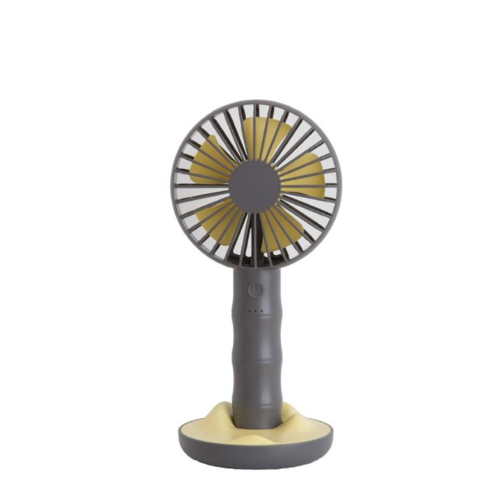 other-learning-office-supplies Well Star WT-F13 Portable Handheld Mini Fan USB Rechargeable Fan with Base Strong Wind Small Fan Mini Desktop Mobile Phone Holder Fans HOB1459108 3 1