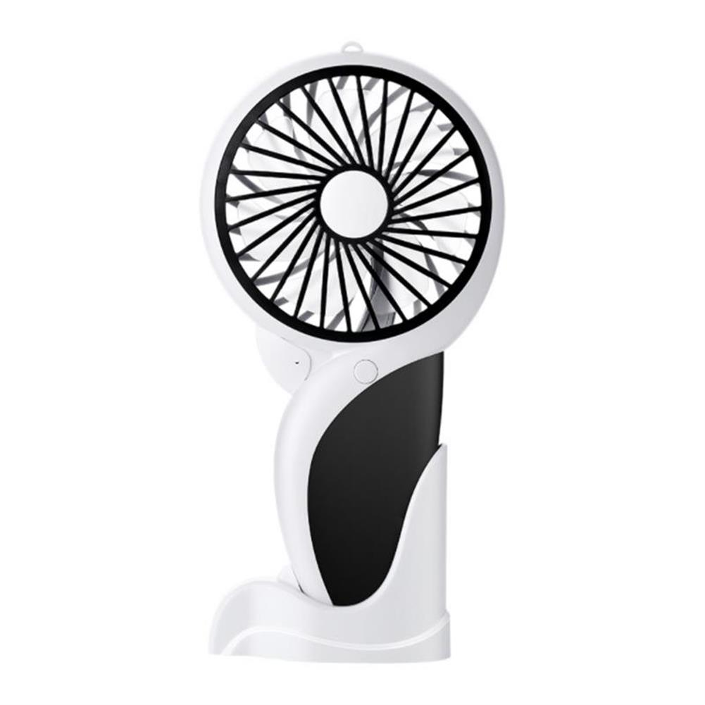 other-learning-office-supplies Well Star WT-N10 Handheld Mini USB Woodpecker Fan with Base LED Light Lamp Fan Rechargeable Air Cooler Silent Cooling Fan for Home office Student Dormitory Outdoors Travelling HOB1459333 1