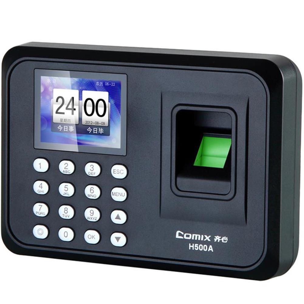 attendance-machine Comix H500A Biometric Fingerprint+Password Recognition office Attendance Machine Sensor Recorder Access Control System Employee Checking-in Recorder HOB1463682 1