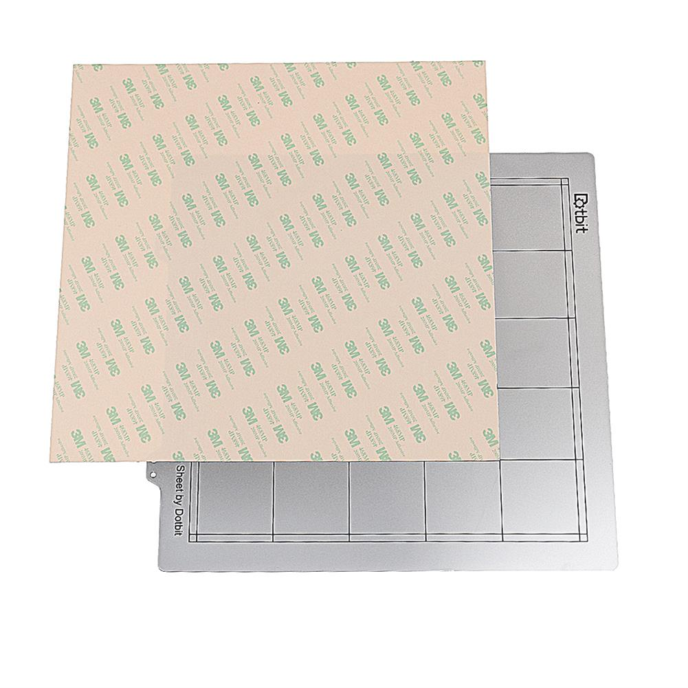 3d-printer-accessories 300*300mm Hot Bed Steel Plate with Adhesive PEI for 3D Printer HOB1465385 1