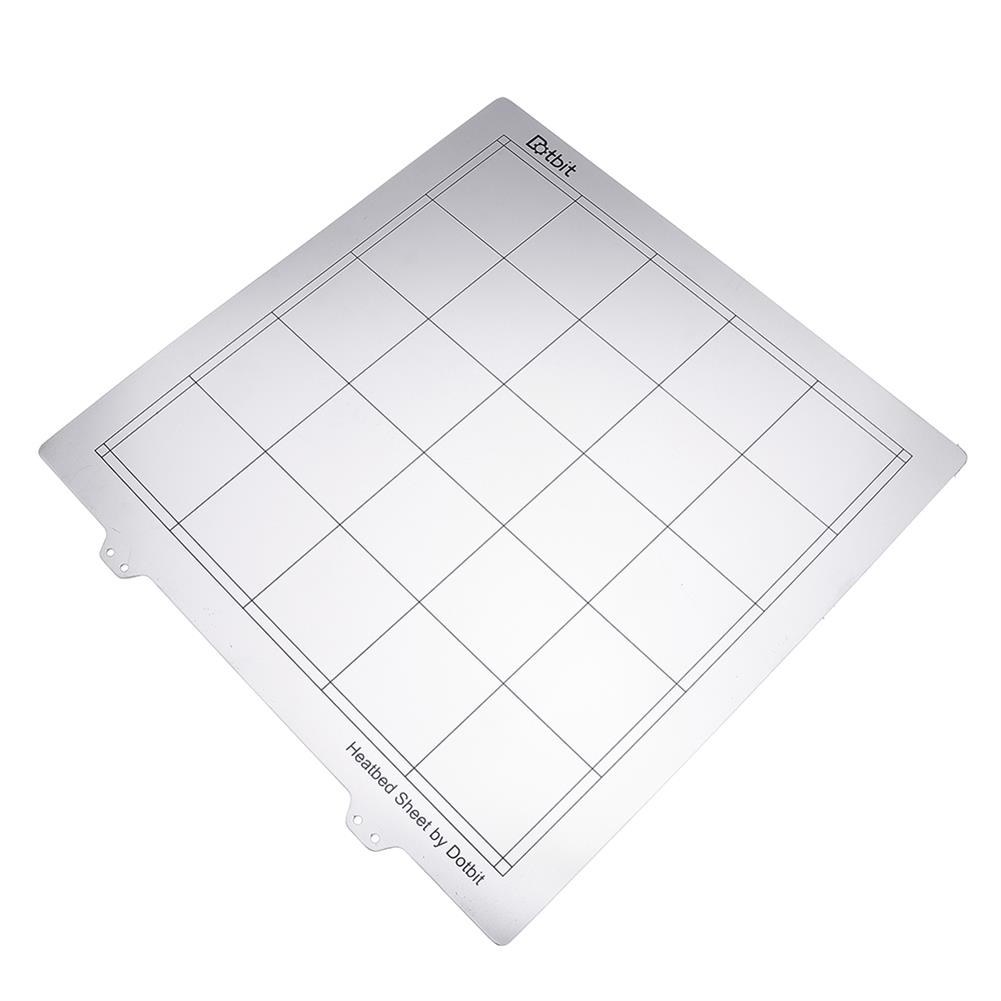 3d-printer-accessories 300*300mm Hot Bed Steel Plate with Adhesive PEI for 3D Printer HOB1465385 3 1