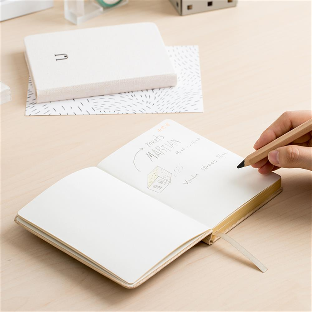 paper-notebooks Jordan&Judy JJ-YD0032 Linen Hard Cover Notebook Business Journal Freenotes Diary Notepad Letter U Notebook for Taking Notes Drawing Painting office School Supplies Stationery Gifts HOB1466199 3 1