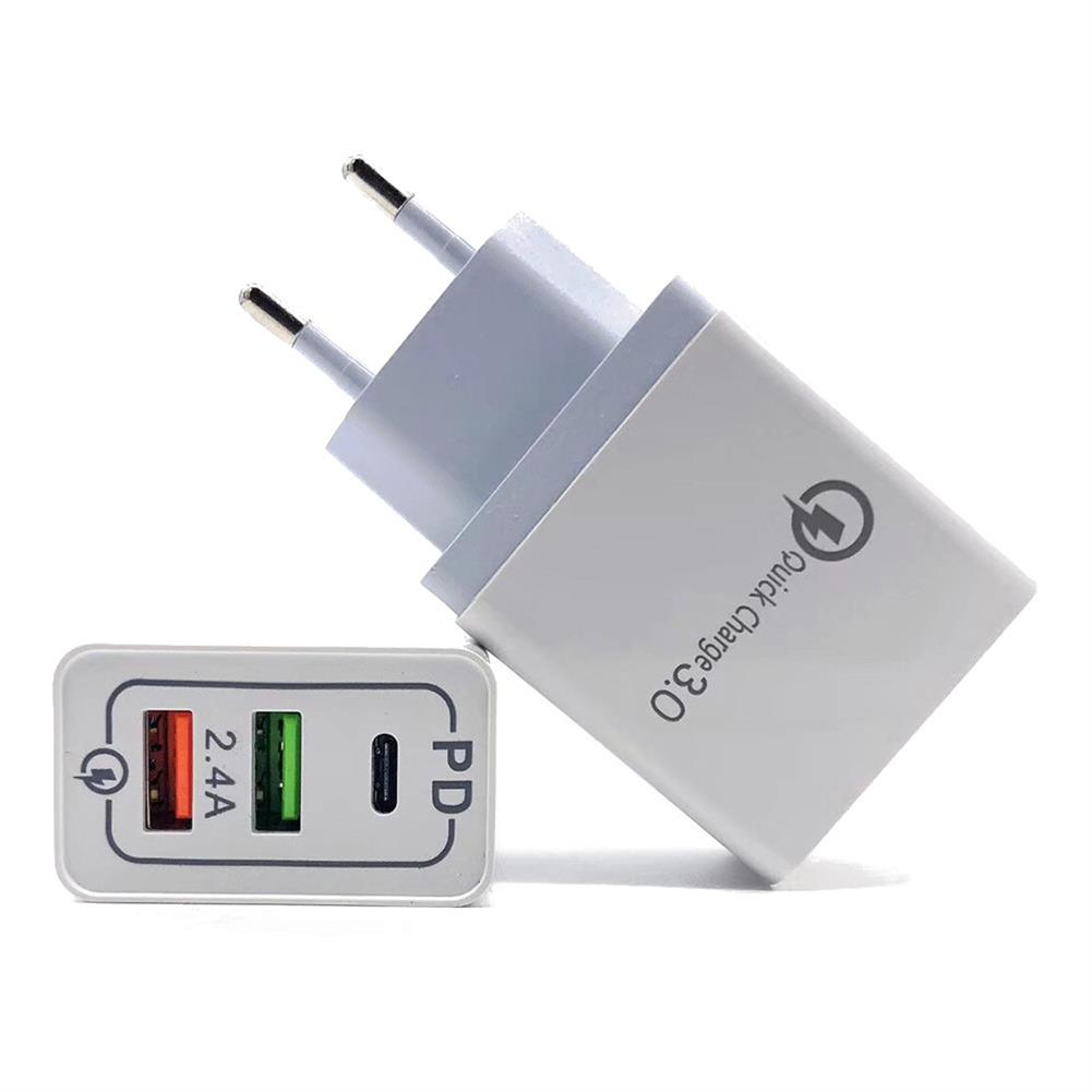 tablet-chargers 5V 2.4A QC 3.0 USB Charger Power Adapter for Smartphone Tablet PC HOB1470754 1