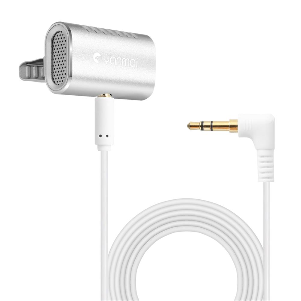 microphones-microphones-headphones Yanmai R977 Lavalier Omnidirectional Condenser Microphone Clip-on Lapel Condenser Microphone for PC Phone iPad Camera Windows HOB1471682 1 1