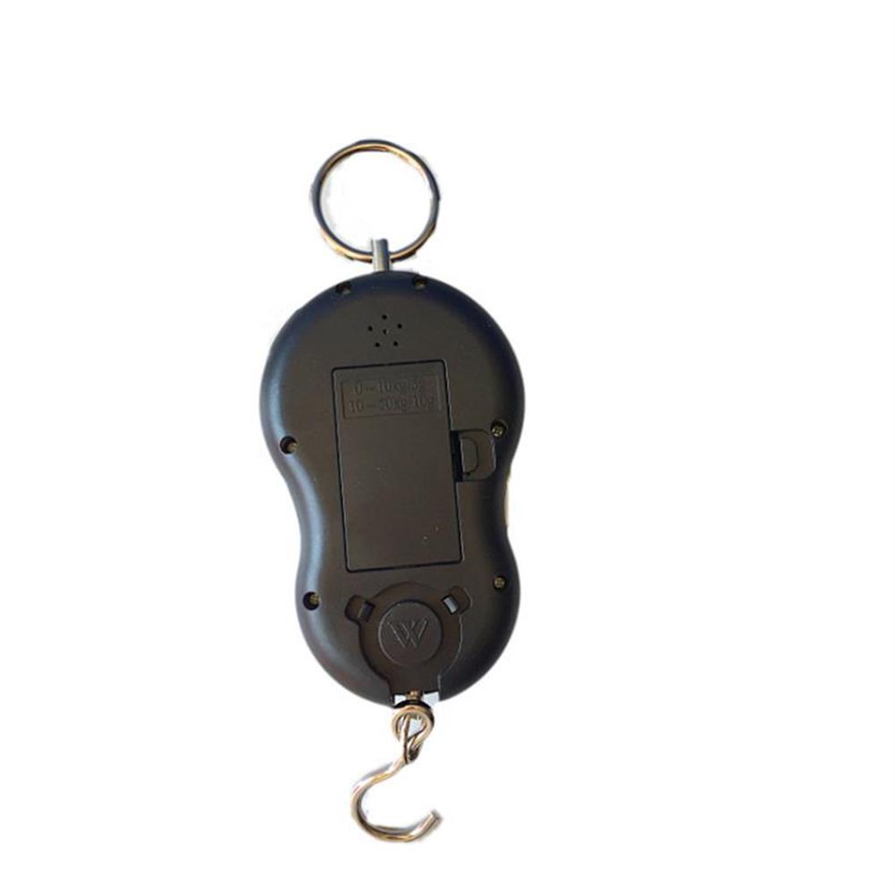 ruler Pocket Portable Electronic Scale Load-bearing 40kg Mini Digital Hanging Luggage Scale Hook LCD Weight Weighing Scale Portable Weighing Tools Random Color HOB1472882 1 1