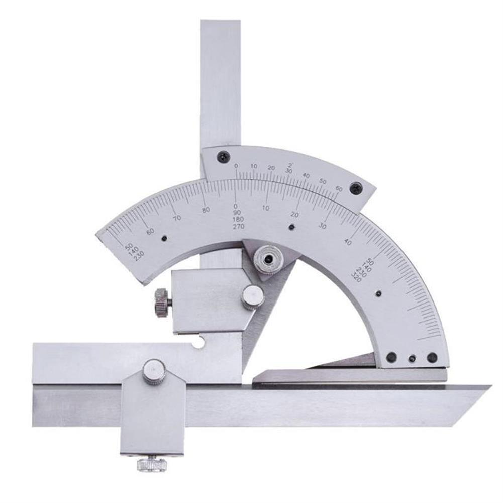 gel-pen Universal Protractor 0-320 Degrees/0-360 Degrees Precision Goniometer Angle Measuring Finder Ruler Tool Multi-function Angle Measuring Tool Woodworking Measuring Tool HOB1473148 1