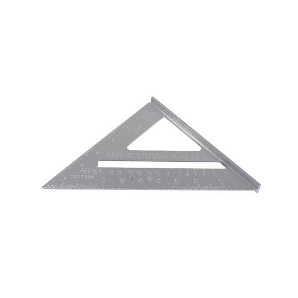 gel-pen 7 inch English Triangle Ruler 17CM 30CM Metric Triangle Ruler Angle Protractor Metal Speed Square Measuring Ruler Metric English Ruler Carpenter Measuring Tools HOB1474107 3 1