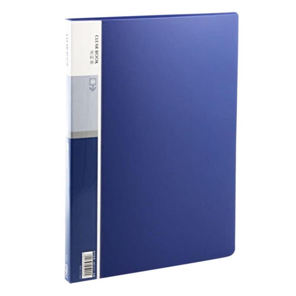 desktop-off-surface-shelves Deli 5060 Anti-static A4 File Folder 60 Pages Brochure Folder insert Clip Document Folder information booklet Desktop File Organizer office School Supplies HOB1474256 1