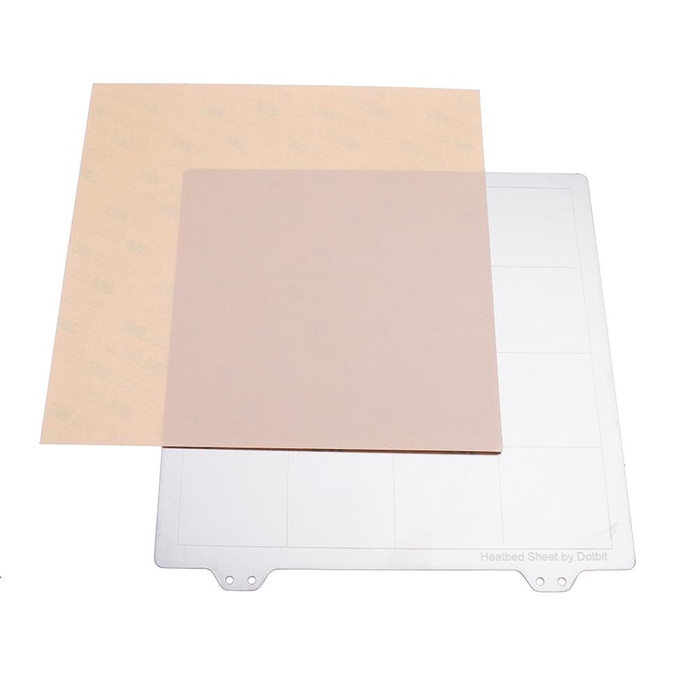 3d-printer-accessories 200*200mm Hot Bed Heated Bed Steel Plate with Adhesive PEI Sheet for 3D Printer HOB1477637 1