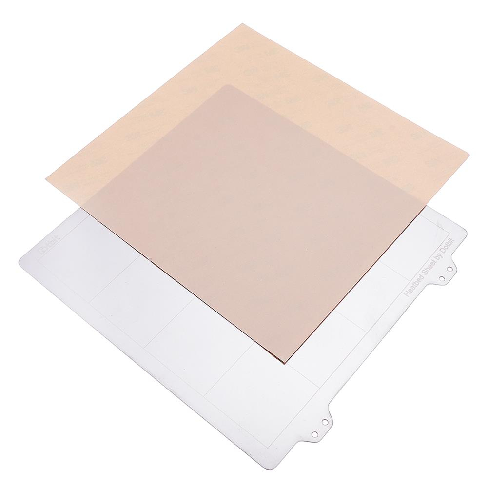 3d-printer-accessories 200*200mm Hot Bed Heated Bed Steel Plate with Adhesive PEI Sheet for 3D Printer HOB1477637 1 1