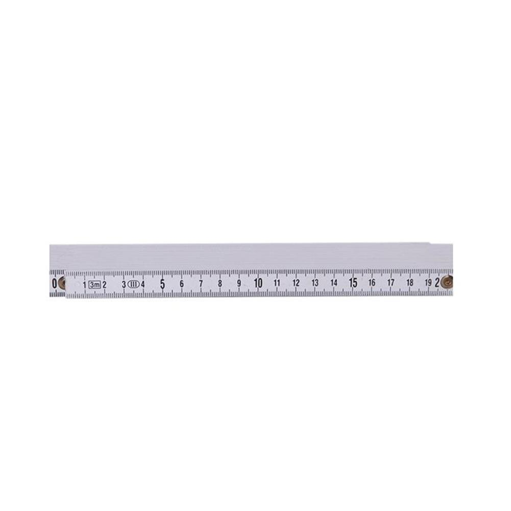 other-learning-office-supplies TP 2M Plastic Folding Ruler Straight Ruler Double Scale 10 Locking Joints 200cm Portable Carpenter Measuring Tools HOB1478897 1 1