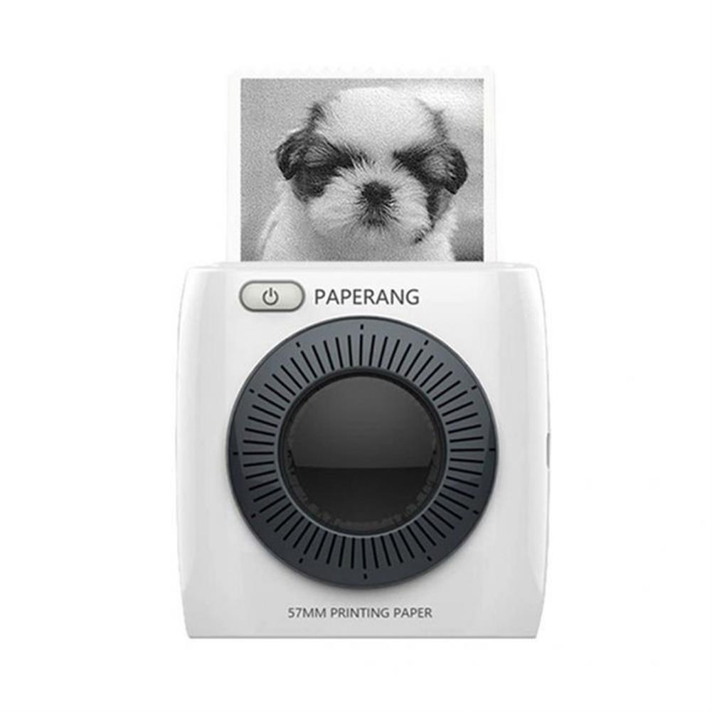 printers PAPERANG P2 Handheld Mini bluetooth thermal Printer 300dpi HD 1000mAh Battery Portable Label Photo Printer HOB1481425 1
