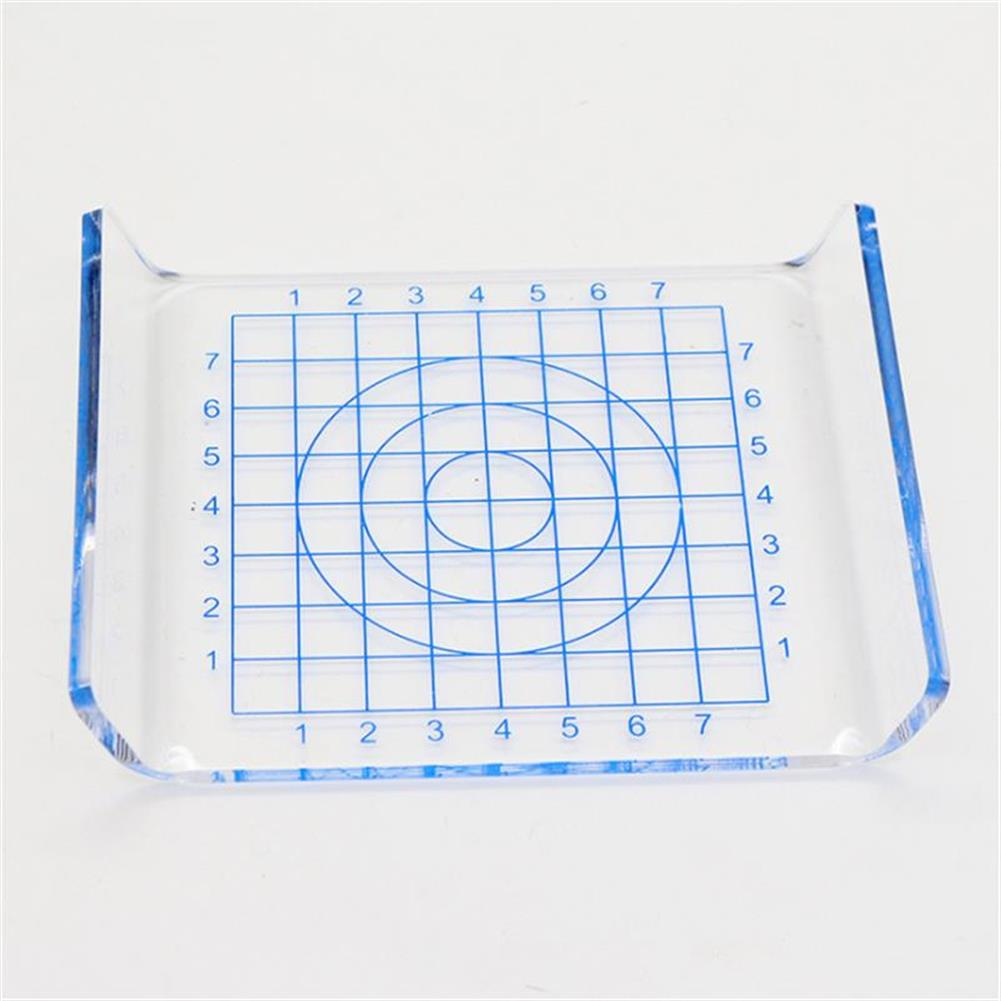 other-learning-office-supplies 1Pcs Clear U-shaped Acrylic Scale Sheet Acrylic Pressure Board Transparent DIY Press Plate Clay Tool Ultralight Clay Mat HOB1482432 1