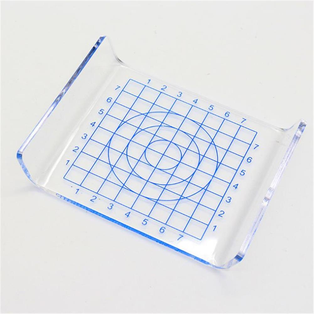 other-learning-office-supplies 1Pcs Clear U-shaped Acrylic Scale Sheet Acrylic Pressure Board Transparent DIY Press Plate Clay Tool Ultralight Clay Mat HOB1482432 1 1