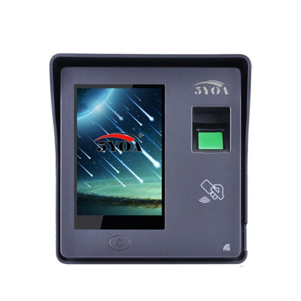 attendance-machine 5YOA BM11 intelligent Fingerprint Password Card Recognition Time Attendance Machine RFID Door Lock Access Control System Employee Checking-in Recorder HOB1482961 1