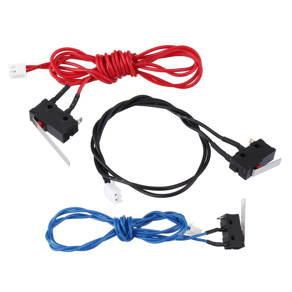 3d-printer-accessories 3Pcs UM2 Standard Version Elevated Edition 3 Color Limit Switch Endstop Switch Kit for 3D Printer HOB1493185 1
