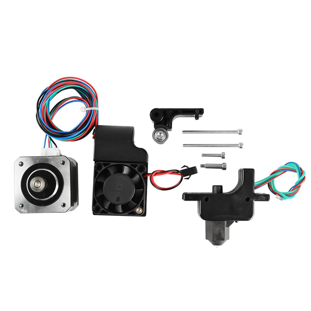 3d-printer-accessories 24V Removable 1.75mm 0.4mm Extruder Nozzle 100K Resistance + Stepper Motor + Cooling Fan Kit for 3D Printer HOB1493493 1 1