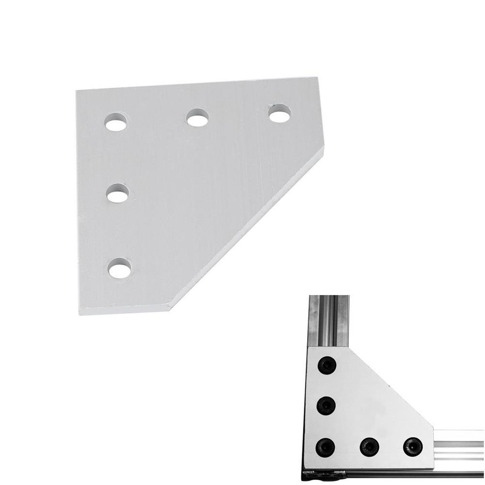 3d-printer-accessories V-Slot Heavy Type 90 Joint Plate Aluminum T4*60*60mm M5 Thread for 3D Printer HOB1494706 1