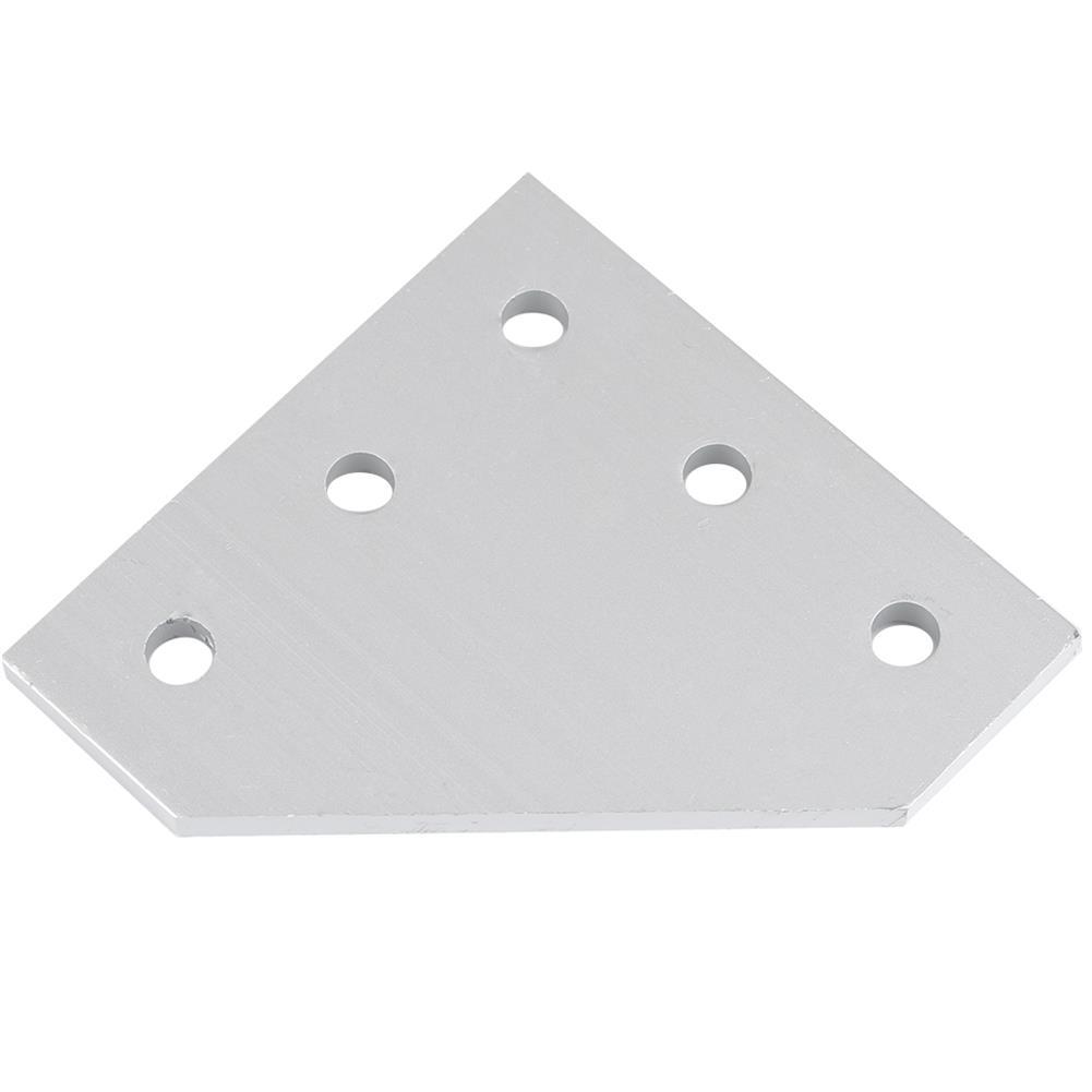 3d-printer-accessories V-Slot Heavy Type 90 Joint Plate Aluminum T4*60*60mm M5 Thread for 3D Printer HOB1494706 2 1