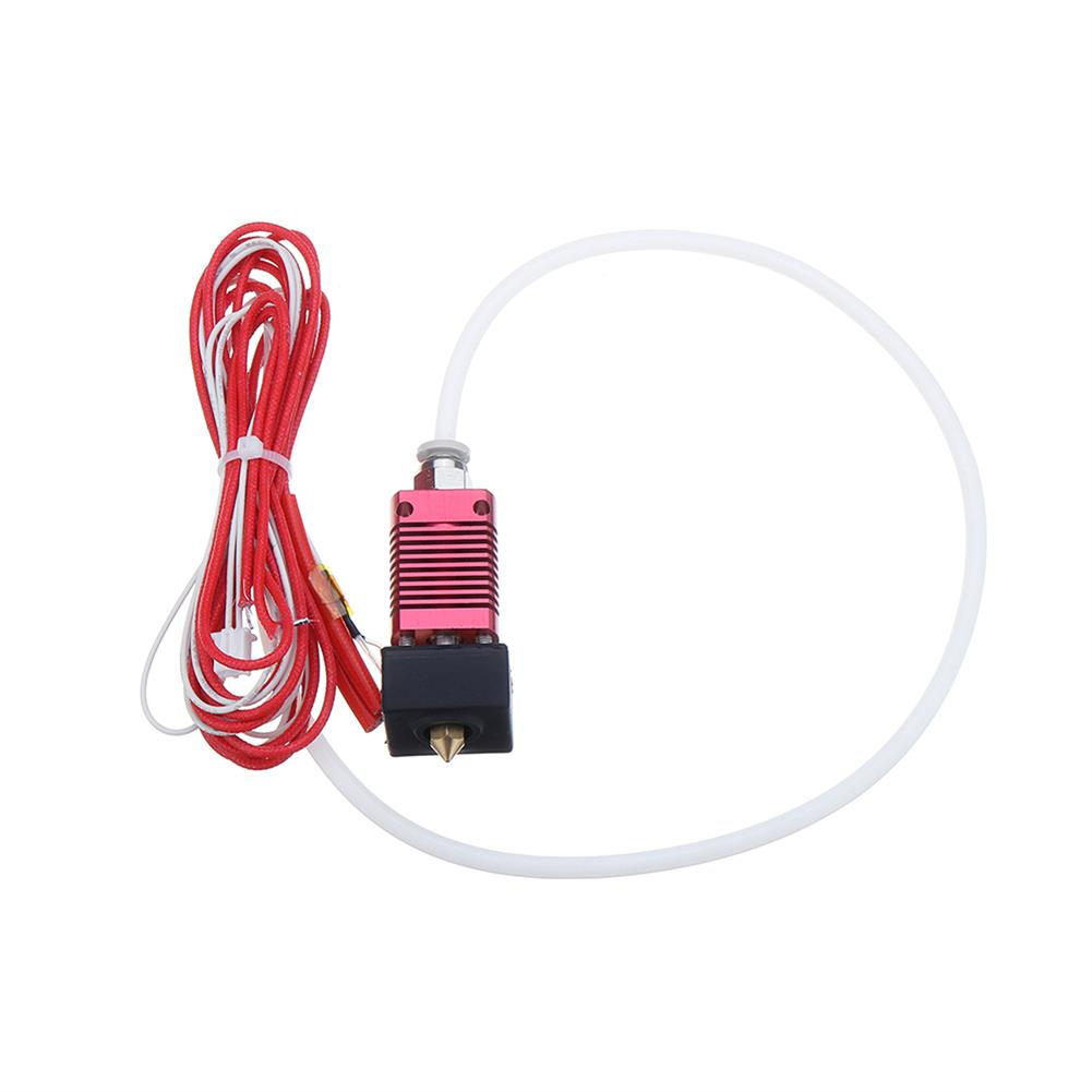 3d-printer-accessories 24V 40W Extruder Nozzle Hot End Kit with Temperature thermistor & Heating Tube for Creatily 3D Ender-3 3D Printer HOB1512398 3 1