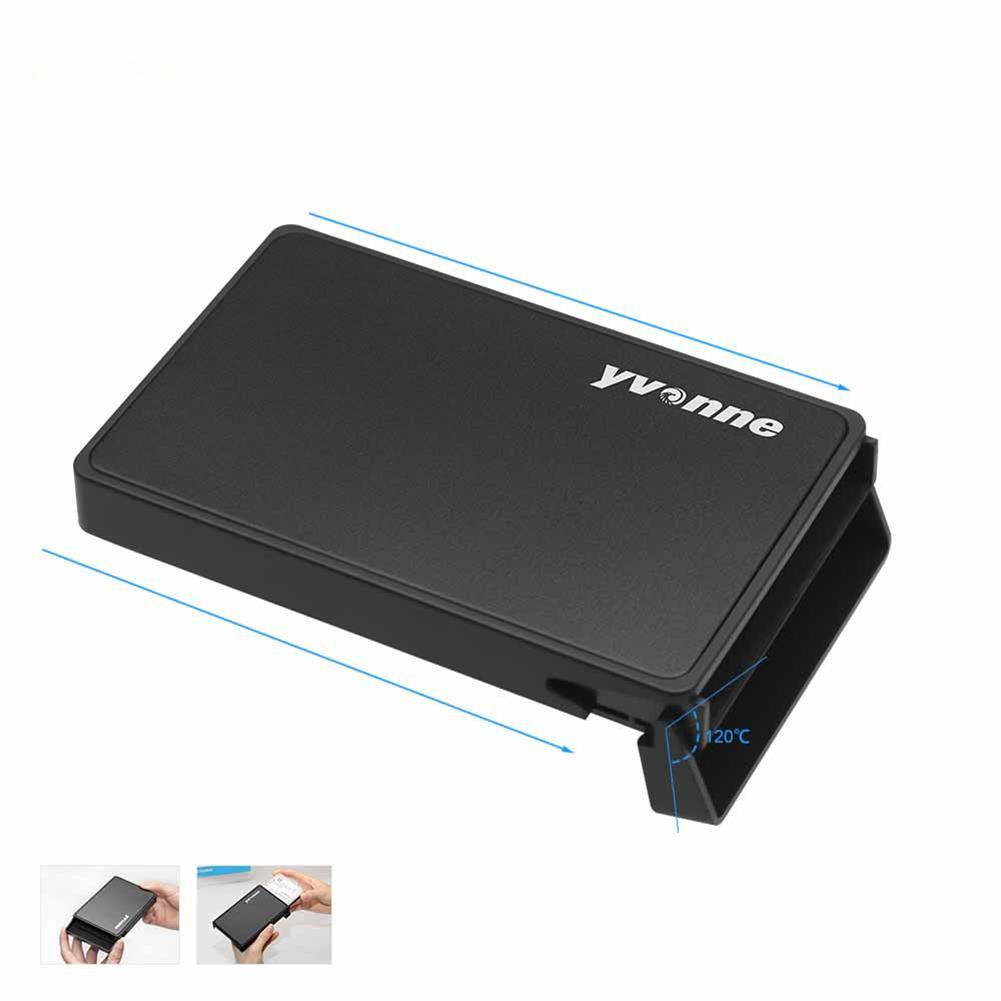 hdd-ssd-enclosures Yvonne HD215 2.5 inch SSD HDD Enclosure Solid State Drive Hard Drive Enclosure with SATA to USB 3.0 for Windows 98SE ME 2000 XP VISTA Mac OS HOB1515965 3 1