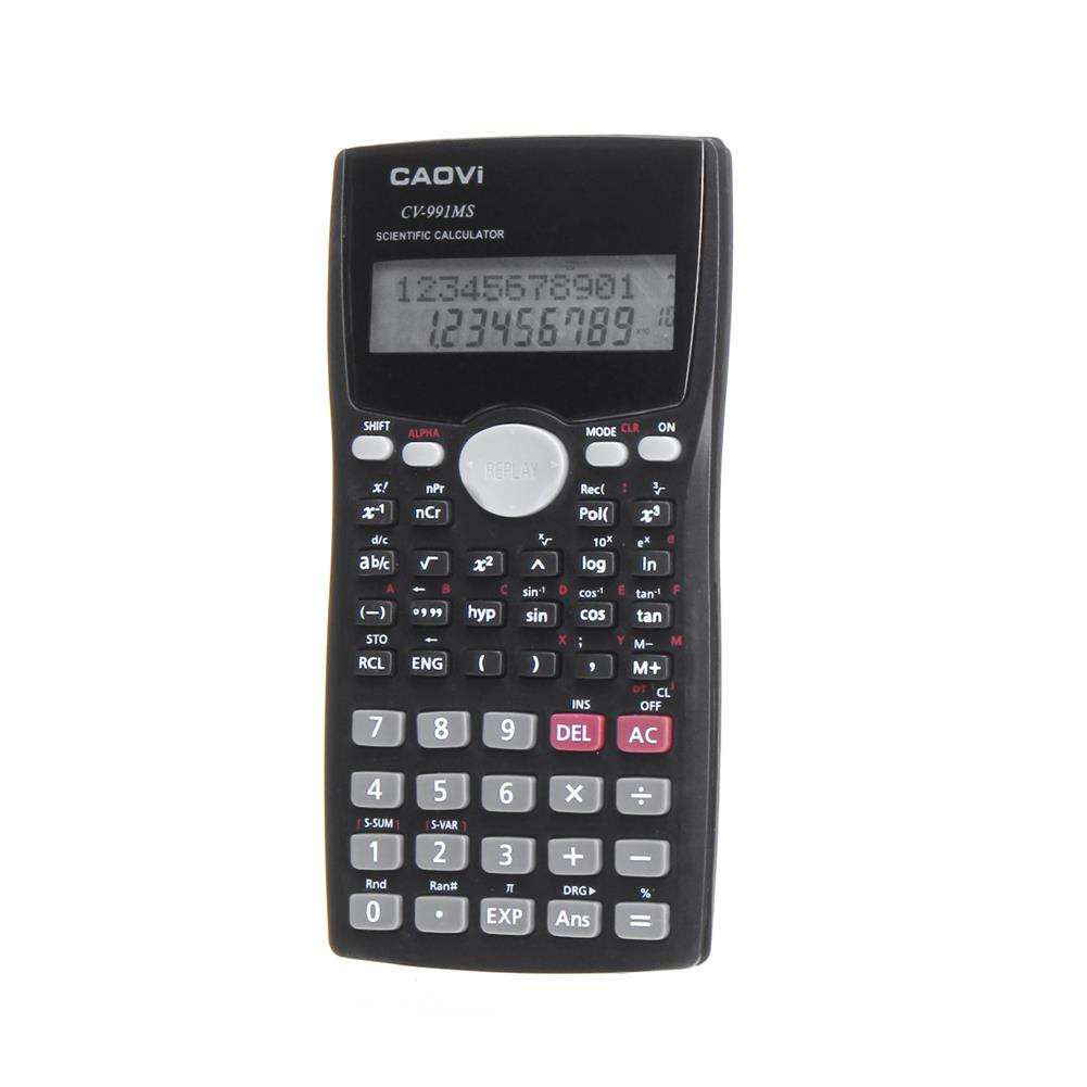 calculator 991MS Scientific Calculator LCD Student's Scientific Calculation Battery Powered Digital Number Calculator office School Supplie HOB1518591 1 1