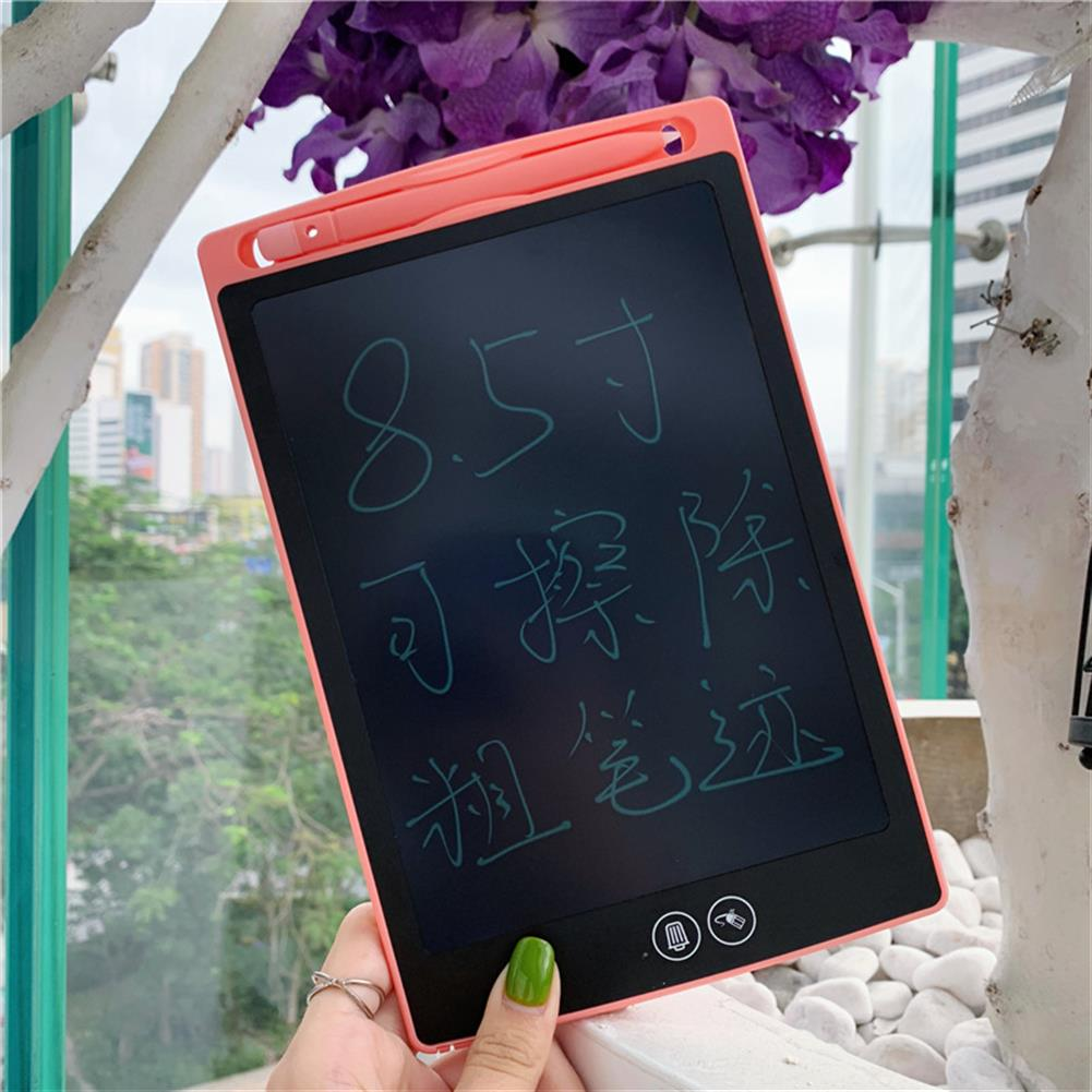 writing-tablet 8.5 inch LCD Writing Tablet Digital Drawing Board Electronic Handwriting Pad Message Graphics Board Kids Writing Board Font Children Gifts HOB1524855 1 1