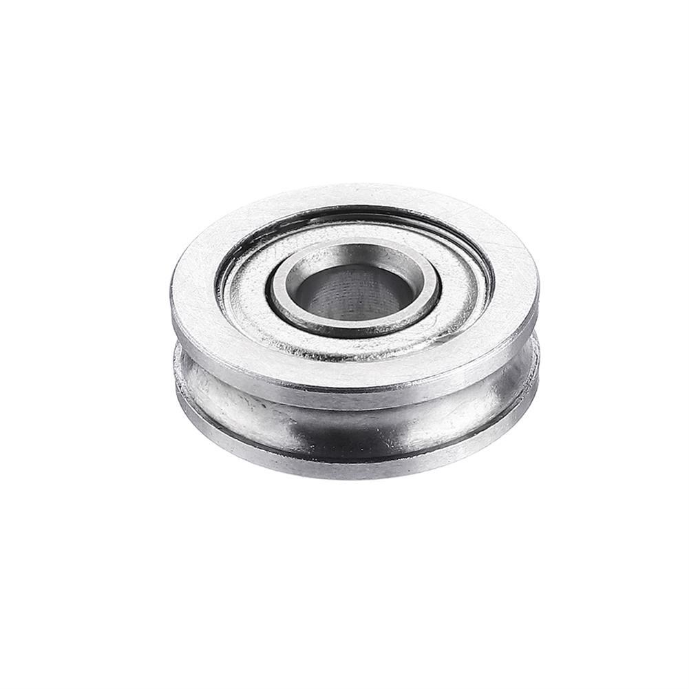 3d-printer-accessories Anet U604ZZ U-groove Pulley Bearing for 3D Printer Extruder Timing Belt Parts HOB1524901 1 1