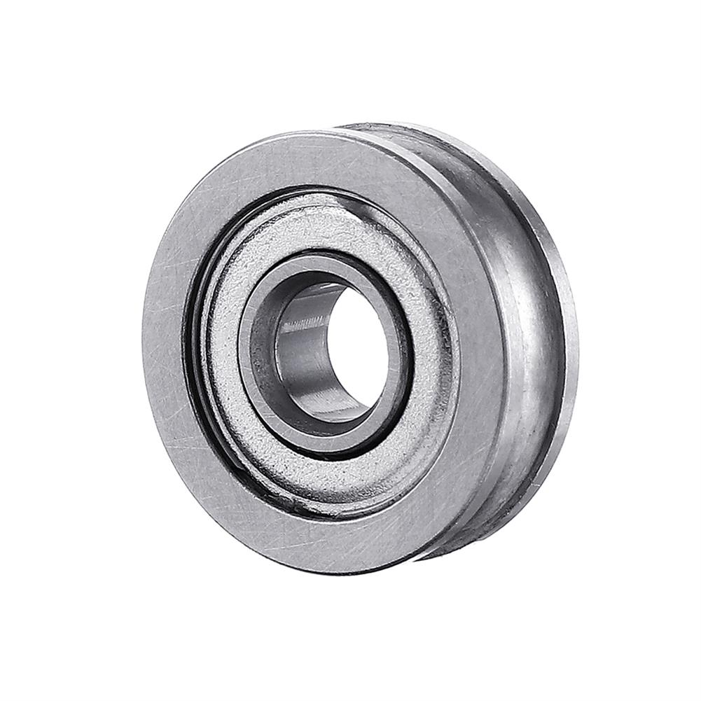 3d-printer-accessories Anet U604ZZ U-groove Pulley Bearing for 3D Printer Extruder Timing Belt Parts HOB1524901 3 1