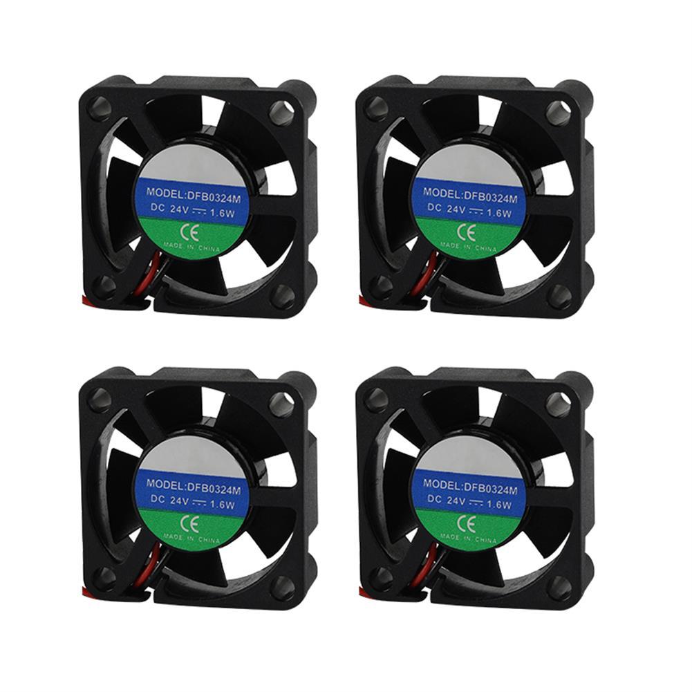 3d-printer-accessories 4PCS UM2+ 24V 3010 Mini Heat Cooling Fan for 3D Printer HOB1525874 1