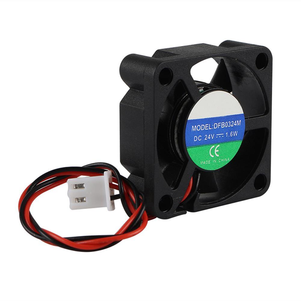 3d-printer-accessories 4PCS UM2+ 24V 3010 Mini Heat Cooling Fan for 3D Printer HOB1525874 3 1