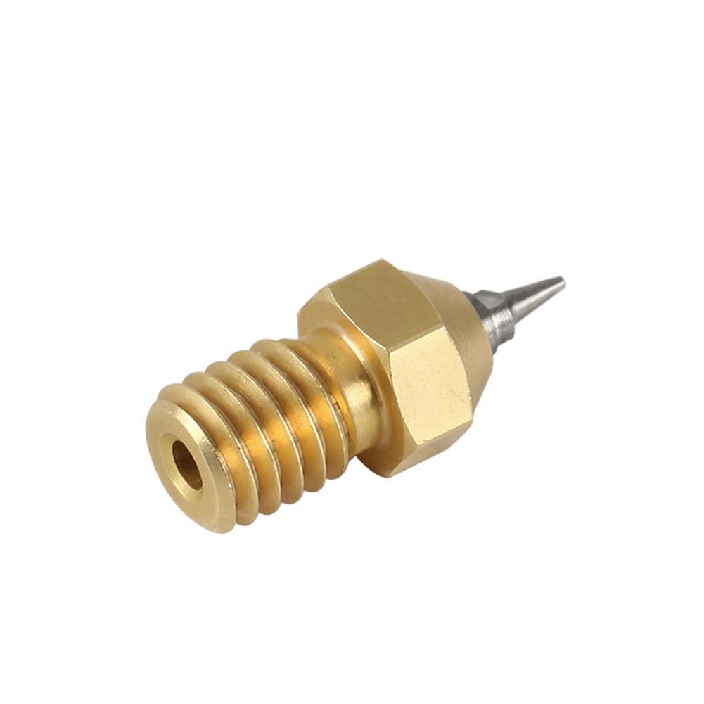 3d-printer-accessories 3pcs V6 1.75mm 0.2/0.3/0.5mm Airbrush Nozzle Adapter for 3D Printer HOB1525889 2 1