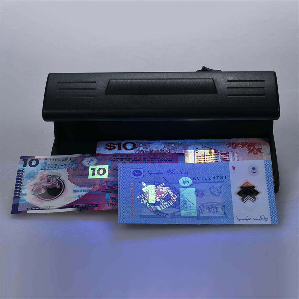 money-counter 318 Ultraviolet UV Bill Detector Mini Cash Money Currency Detecting Machine Handy Bill Cash Banknote Counter Money Battery Powered Bank Note Checkerake Polymer Bank Note Checker HOB1525924 3 1