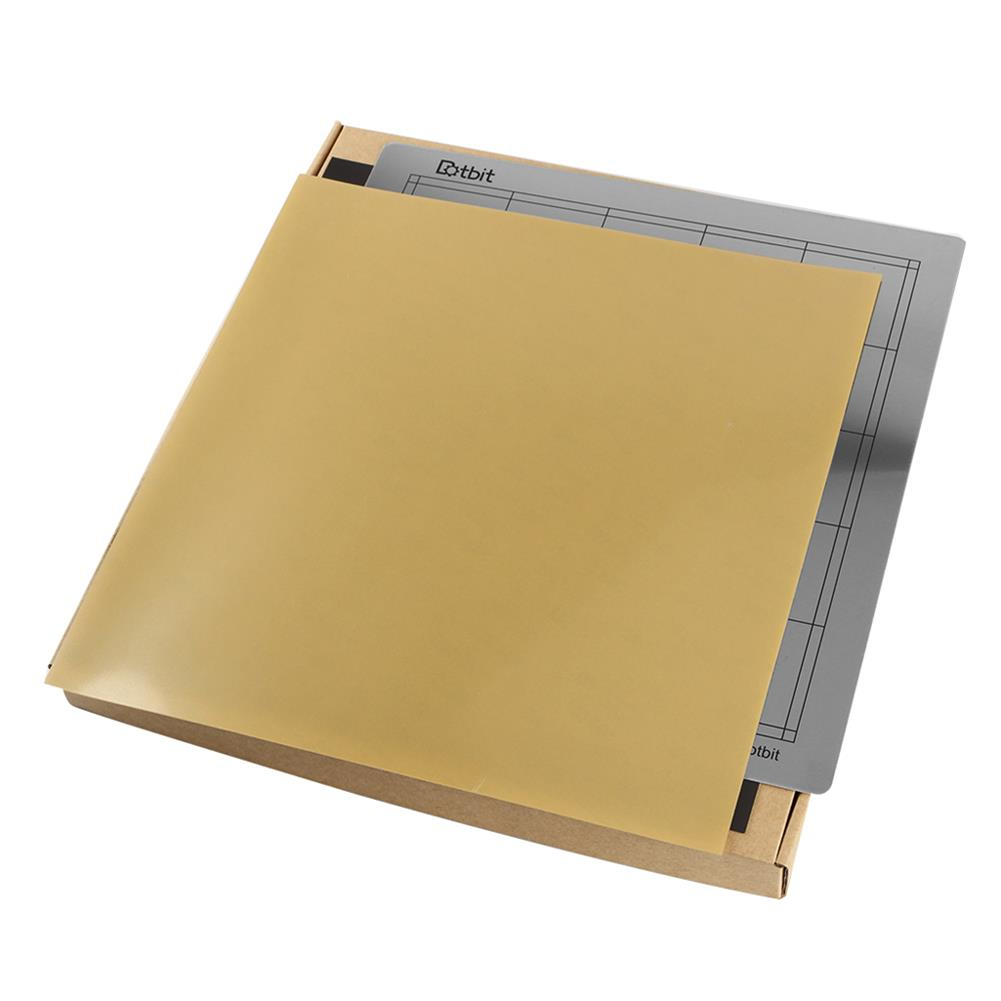 3d-printer-accessories 300*300mm Heated Bed Platform Hot Bed Steel Plate with B Side Magnetic Sticker + PEI Sheet for 3D Printer HOB1526674 2 1