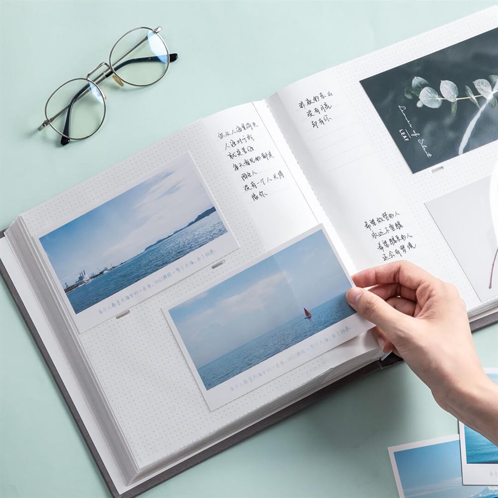 desktop-off-surface-shelves [From XM ] Self Adhesive Photo Album Nusign Scrapbook Album Photo Book Wedding Guest Book DIY Anniversary Memory Album Book HOB1529423 3 1