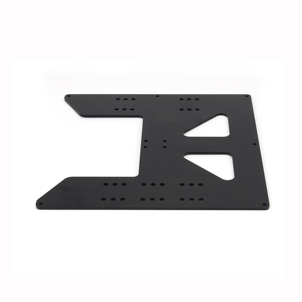 3d-printer-accessories Aluminum Y Carriage Hot Bed Support Plate for Prusa i3 3D Printer HOB1531920 3 1