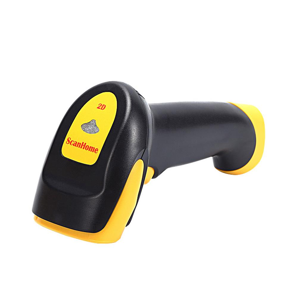 scanners ScanHome SH-4120 Wireless Handheld 1D/2D/QR Codes Barcode Scanner Universal Scanner with USB/RS232 interface for Restaurants Shops Supermarkets HOB1534585 1