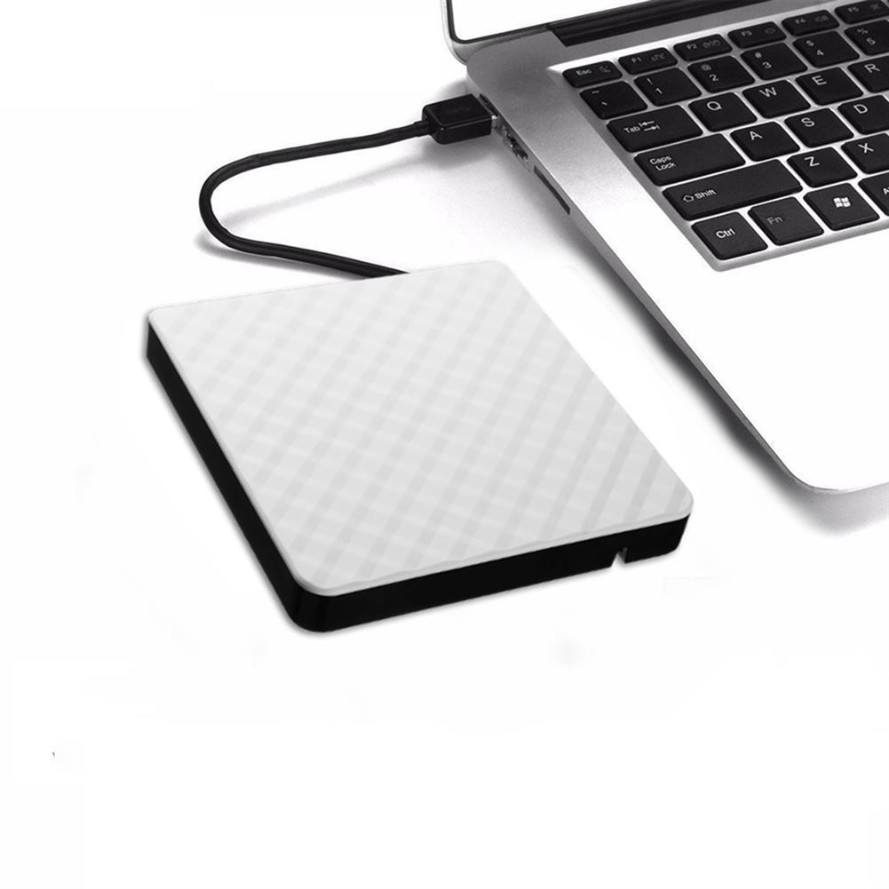 optical-drives External USB 3.0 DVD RW CD Writer Slim Carbon Grain Drive Burner Reader Player for PC Laptop Optical Drive HOB1536013 1