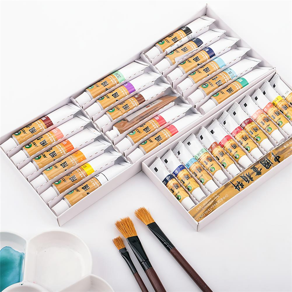 watercolor-paints Marie's 18/24/36 Colors Watercolor Paint Set Oil Painting Pigment School Art Drawing Supplies Profesional Painting Tools HOB1540689 1