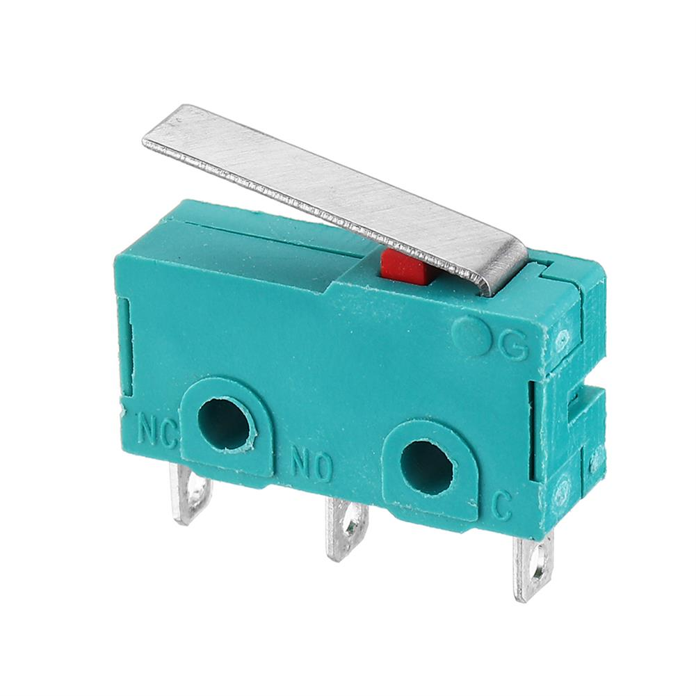 3d-printer-accessories KW4-3Z-3 Straight Shank 3D Pritner 3pin Micro Endstop Switch Limit SS-5GL HOB1541352 1 1