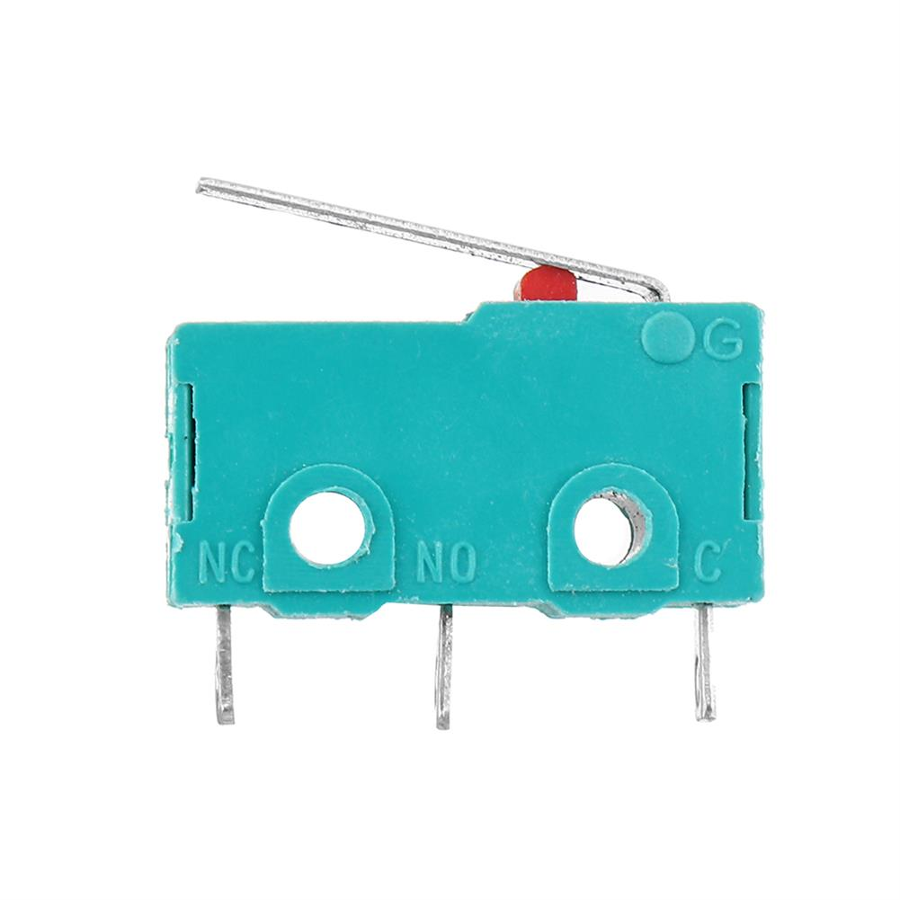 3d-printer-accessories KW4-3Z-3 Straight Shank 3D Pritner 3pin Micro Endstop Switch Limit SS-5GL HOB1541352 2 1