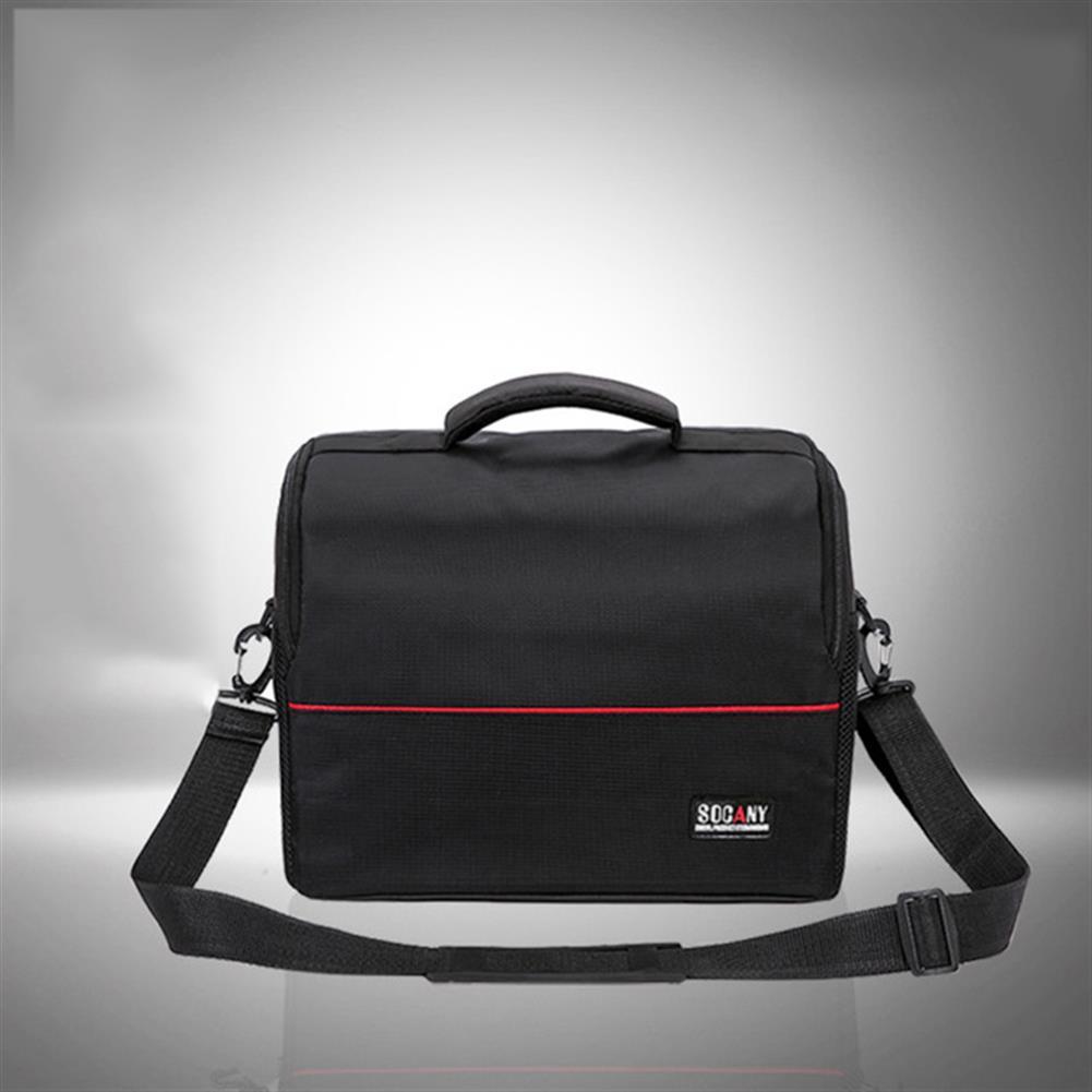 projectors-theaters Portable Universal Projector Bag S/L Size Storage Bag Case Detachable Strap Wear-resistant Shockproof Business Bag for SLR Cameras Projectors HOB1542068 3 1