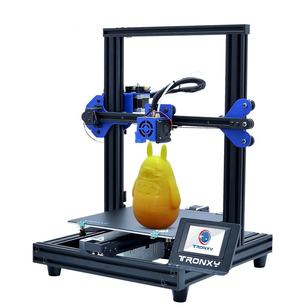 3d-printer TRONXY XY-2 PRO Prusa I3 DIY 3D Printer Kit 255*255*260mm Printing Size Titan Extruder Available with Power Resume / Filament Detect / Auto Leveling Function HOB1544188 1