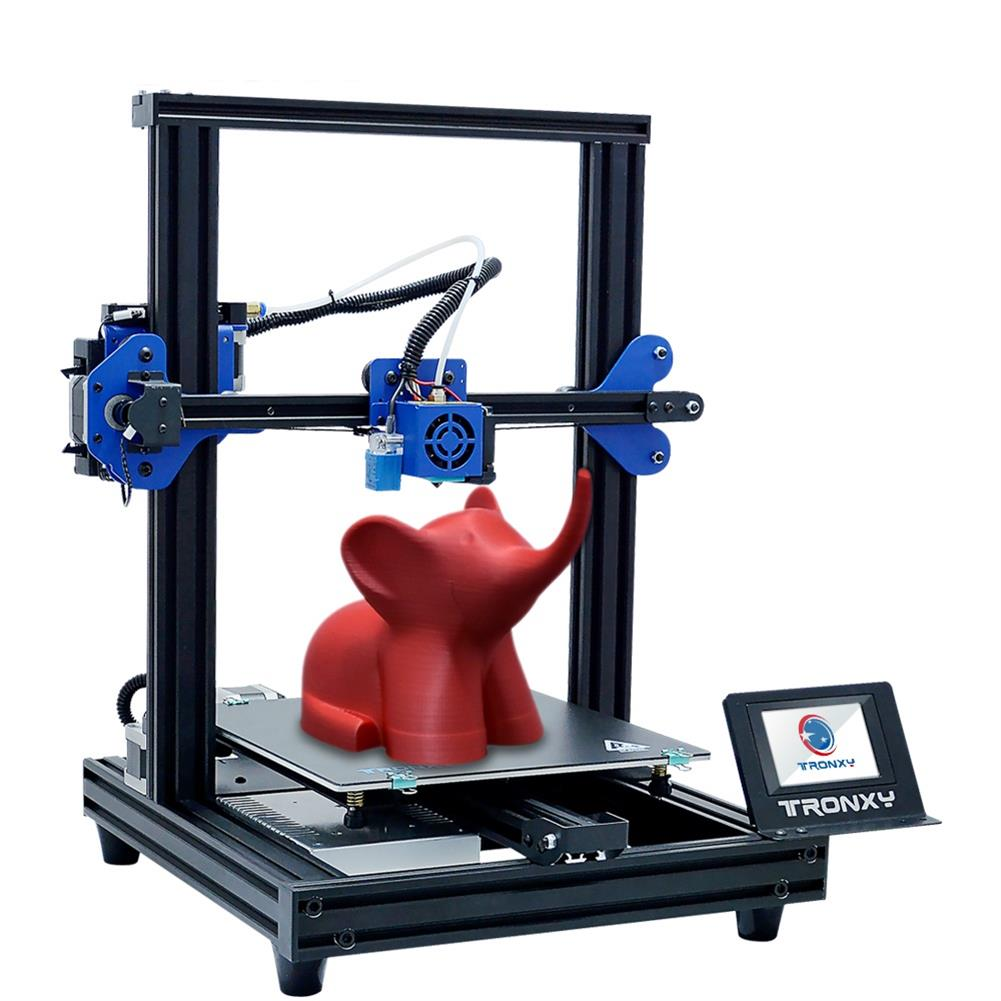 3d-printer TRONXY XY-2 PRO Prusa I3 DIY 3D Printer Kit 255*255*260mm Printing Size Titan Extruder Available with Power Resume / Filament Detect / Auto Leveling Function HOB1544188 1 1