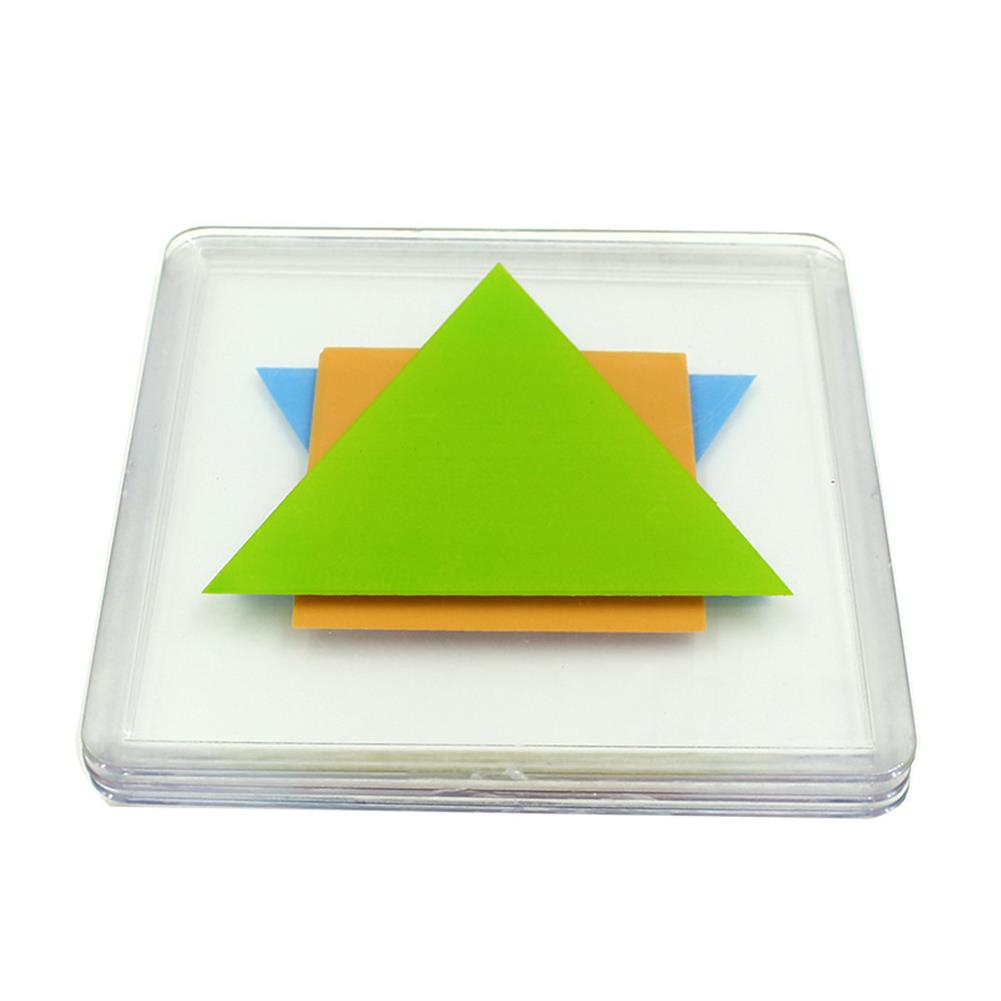 other-learning-office-supplies Xiaoguaidan ZM0096 100 levels Baby Colorful Plate Spatial Thinking Jigsaw Puzzle Toy Kids Logical Thinking Color Match Desktop Game Birthday Gifts for Childrens Kids HOB1544822 3 1