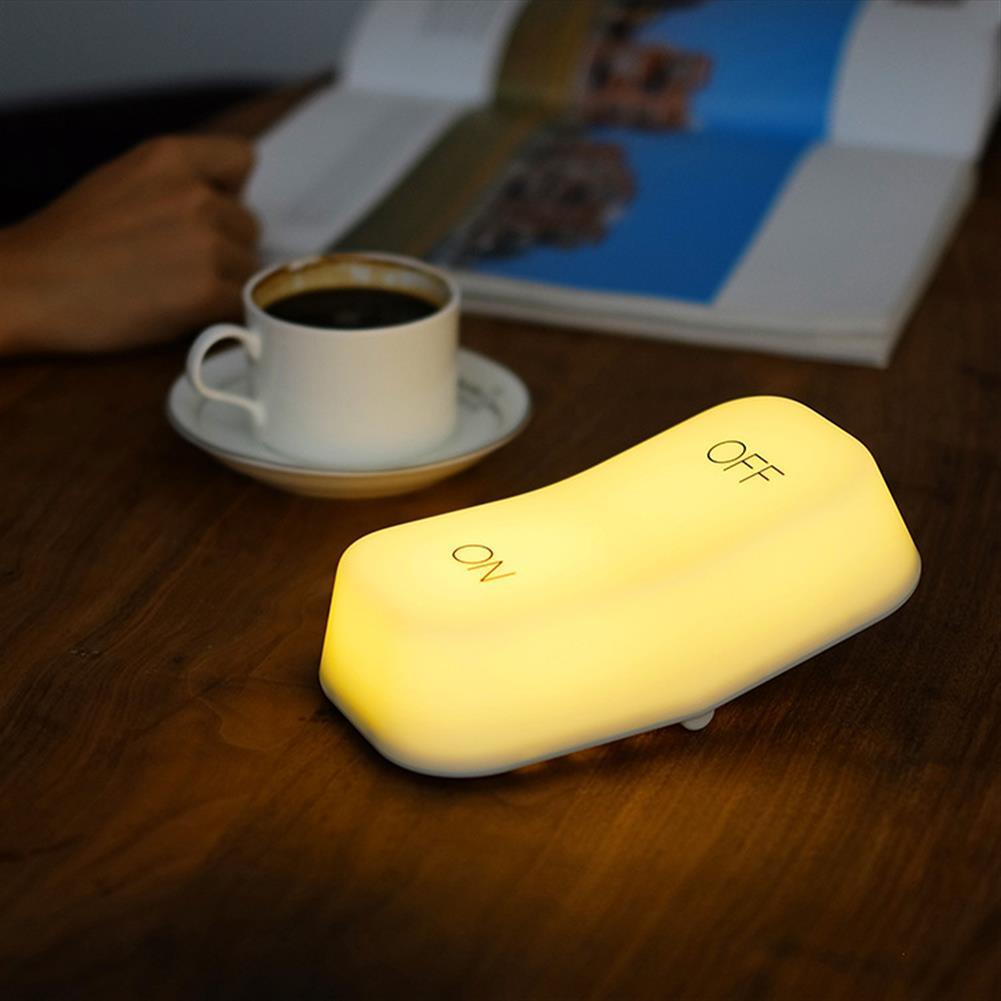 desktop-off-surface-shelves Muid LED Night Light Desk Lamp 2 Lighting Modes Gravity Sensor USB Rechargeable Night Lamp HOB1546483 1 1
