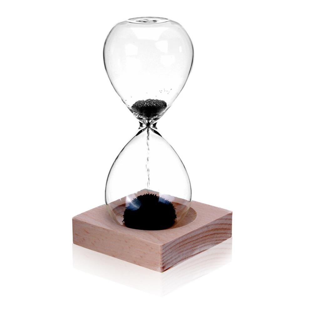 stationery-sticker MEILIDA 1Pc Magnetic Hourglass Sand Timer Clock Magnet Magnetic Crafts Desktop Decoration Gifts for Club Hotel Home office HOB1546664 1
