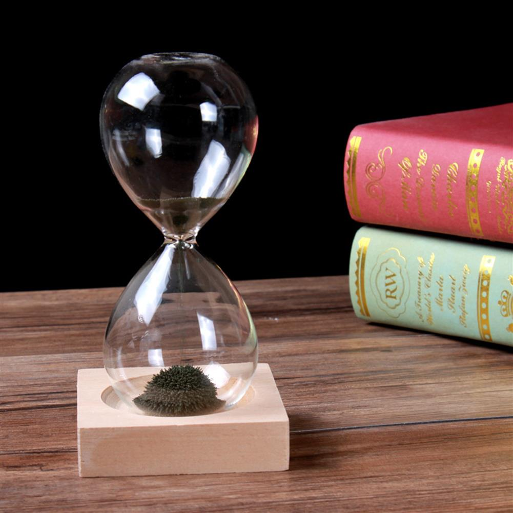 stationery-sticker MEILIDA 1Pc Magnetic Hourglass Sand Timer Clock Magnet Magnetic Crafts Desktop Decoration Gifts for Club Hotel Home office HOB1546664 3 1